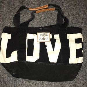 PINK Victoria's Secret Canvas Bag